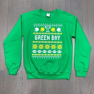 Gildan Shirts Nfl Green Bay Packers Ugly Christmas Sweatshirt